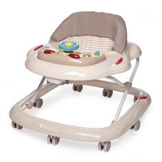 Ходунки Baby Care Pilot бежевые полосы