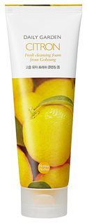 Средство для умывания Holika Holika Daily Garden Goheung Citron Fresh Cleansing Foam