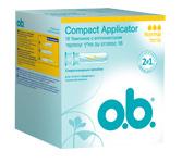 Тампоны o.b. Compact Applicator нормал 16шт