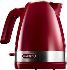 Чайник электрический DeLonghi KBLA 2000 Red Delonghi