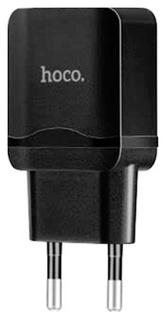 Сетевое зарядное устройство Hoco C33A 2 USB 2,4A Black