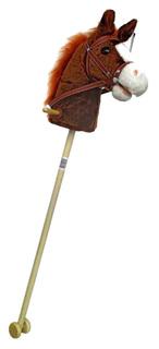 Игрушка-скакалка Лошадка с колесиками (звук), 95 см Shantou