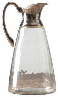 Кувшин Eichholtz RO-6923/BKN Прозрачный, серебристый