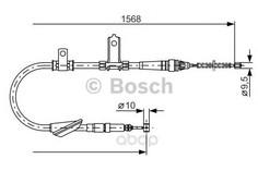 Трос стояночного тормоза Bosch 1987477791