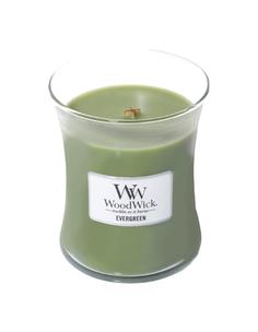 Ароматическая свеча WoodWick Evergreen 811-474 Зеленый