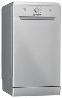 Посудомоечная машина 45 см Indesit DSCFE 1B10 S RU silver
