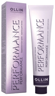 Краска для волос Ollin Professional Perfomance 4/1 Шатен пепельный 60 мл