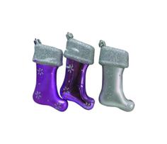 Набор елочных украшений Snowmen Сапожок Е92023 Разноцветный