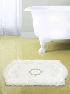 Ковер для ванной 60х100(белый) Royal акрил Bath Plus