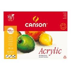Canson Альбом для акрила Canson Фин 24x32 см, 10 листов