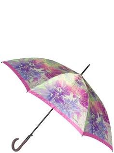 Зонт-трость полуавтомат Eleganzza T-06-0338 лиловый