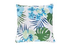 Декоративная подушка 40х40 см Linen Way Синие цветы