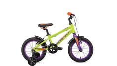 Велосипед Format Kids 14 1 ск. One Size 2018-2019 зеленый, RBKM9H6F1002