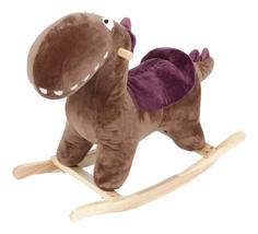 Детская качалка Leader Kids Динозаврик коричневый gs7075