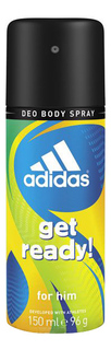 Дезодорант ADIDAS Get Ready! 150 мл