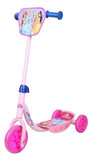 Самокат трехколесный Disney Принцессы Т58464 розовый