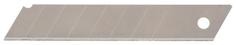 Сменное лезвие для строительного ножа MATRIX 18 мм 10 штук