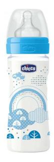 Детская бутылочка Chicco Well-Being Boy 2 мес 250 мл