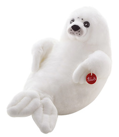 Мягкая игрушка Trudi белый Тюлень, 58 см