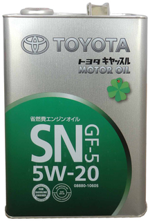 Моторное масло Toyota 5w20 4л