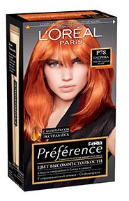 Краска для волос LOreal Paris Preference оттенок P78 паприка