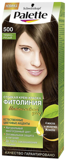 Краска для волос Palette Фитолиния 500 Темно-русый