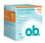 Тампоны o.b. Compact Applicator супер 16шт