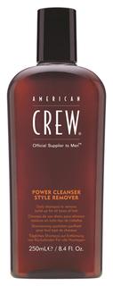 Шампунь American Crew очищающий волосы от укладочных средств 250 мл