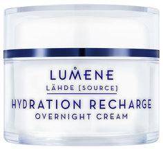 Крем для лица Lumene Lähde Hydration Recharge Overnight Cream 50 мл