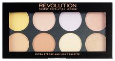 Наборы для макияжа MAKEUP REVOLUTION Ultra Strobe and Light Palette 13 г