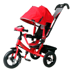 Велосипед Moby Kids Comfort Air Car красный 641084