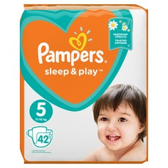 Подгузники Pampers Sleep & Play Junior (11-16 кг) 42 шт.