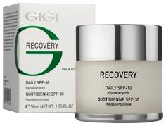 Крем для лица GIGI Recovery увлажняющий восстанавливающий SPF-30 50 мл