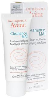 Эмульсия Avene Cleanance МАТ против жирного блеска 40 мл