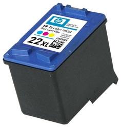 Картридж HP C9352CE №22XL для DJ 3920 3940 PSC 1410 цветной
