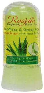 Дезодорант RasYan Алоэ вера и зеленый чай 80 г