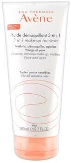 Флюид для снятия макияжа Avene Fluide Demaquillant 3 in 1 200 мл