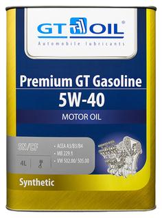 Моторное масло GT OIL 5w40 4л 8809059407226