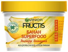 Маска для волос Garnier Fructis Superfood Банан 390 мл