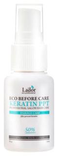Спрей для волос Lador Eco Before Care Keratin PPT восстанавливающий кератиновый 30 мл Lador