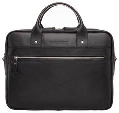 Портфель мужской кожаный Lakestone Bartley черный