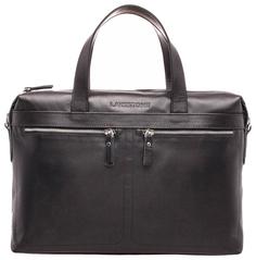 Портфель мужской кожаный Lakestone Dalston черный