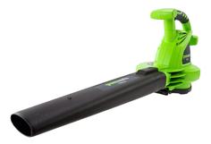 Электрическая воздуходувка-пылесос Greenworks GBV2800 24077