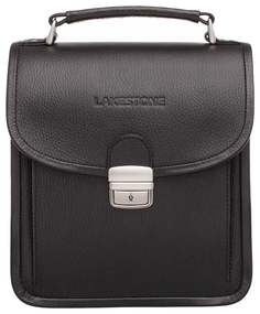 Портфель мужской кожаный Lakestone Bishop черный