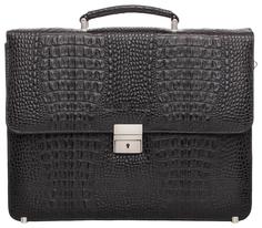 Портфель мужской кожаный Lakestone Braydon 943024/BLC черный