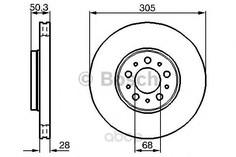 Тормозной диск Bosch 0986478494