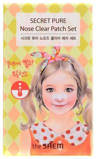 Набор пластырей против акне The Saem Secret Pure Nose Clear Patch 8 шт