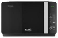 Микроволновая печь с грилем Hotpoint-Ariston MWHAF 206 B black