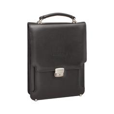 Портфель мужской кожаный Lakestone Gilbert 943020/BL черный