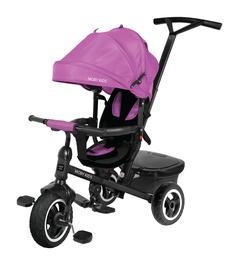 Велосипед трехколесный Rider 360° фиолетовый 641205 Moby Kids